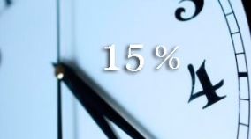 15% Reduction for a minimum stay of 7 nights or more in bed&breakfast