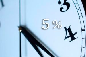 5% Reduction for a minimum stay of 2 nights