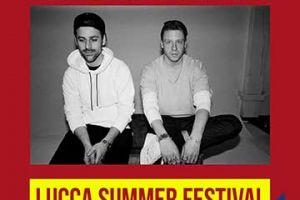 MACKLEMORE AND RYAN LEWIS in concerto al LUCCA SUMMER FESTIVAL