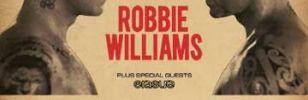 ROBBIE WILLIAMS IN CONCERTO AL LUCCA SUMMER FESTIVAL