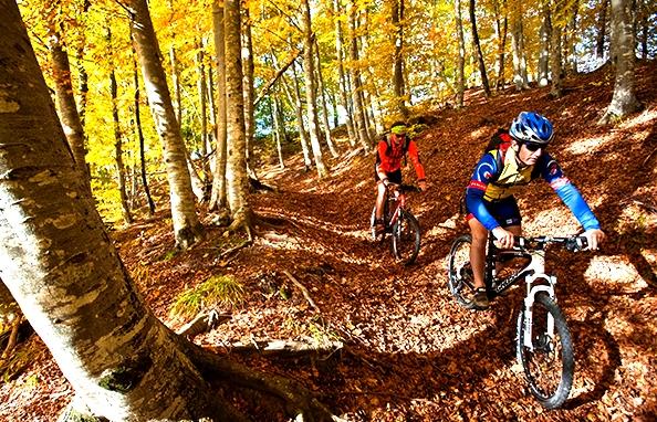 L'Appennino, il trekking, l' e-bike