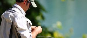 Fishing in Trentino with 160 km  of  rivers and  lakes