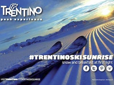 TrentinoSkiSunrise