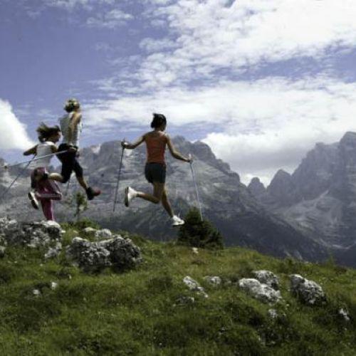 Dolomiti Nordic Walking Park a Madonna di Campiglio