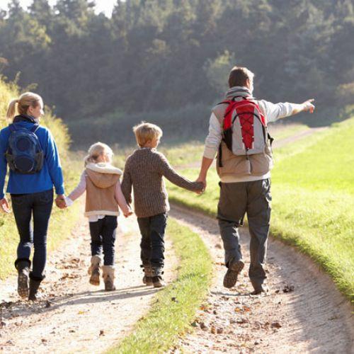 Trekking e passeggiate per famiglie