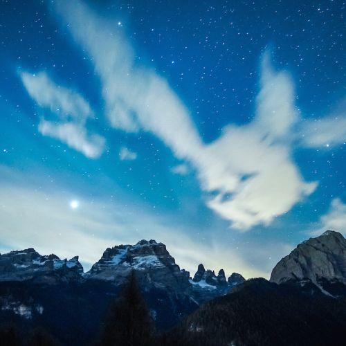 Un' emozione sublime, una camminata fino alle stelle