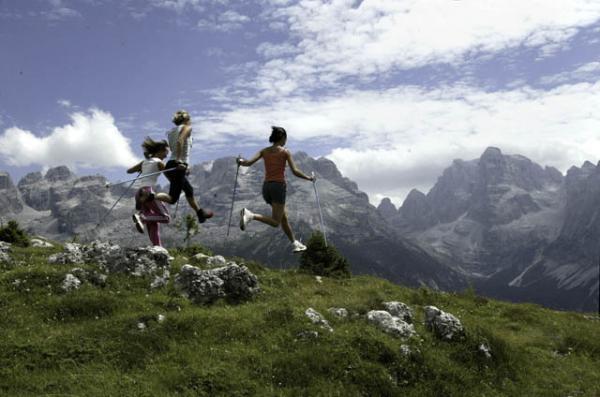 Dolomiti Nordic Walking Park Madonna di Campiglio