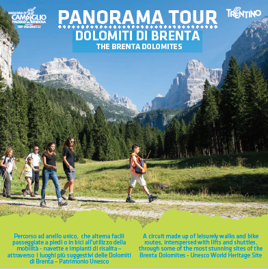 Panorama tour Brenta Dolomites
