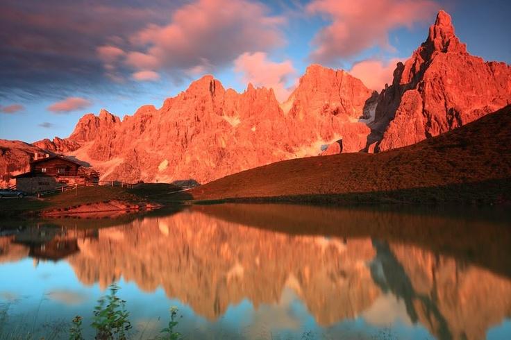 Settembre sulle Dolomiti a San Martino di Castrozza in Trentino Alto Adige