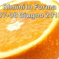 "RIMINI CONFERENCE "" IN FORMA"" OFFER"