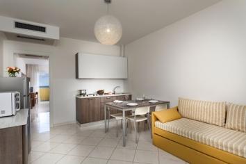 residence hotel piccadiily rimini attico