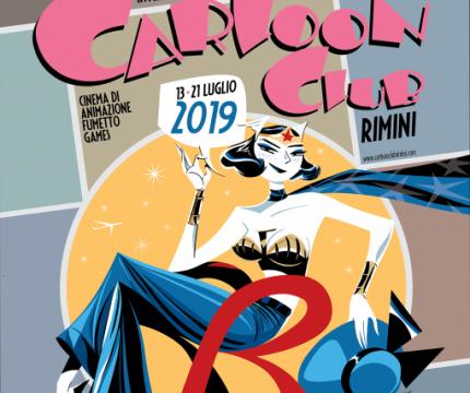 Hotel Cartoon Club Rimini Comics 2019
