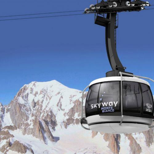 Nouvelle Téléphérique Skyawy du Mont Blanc!