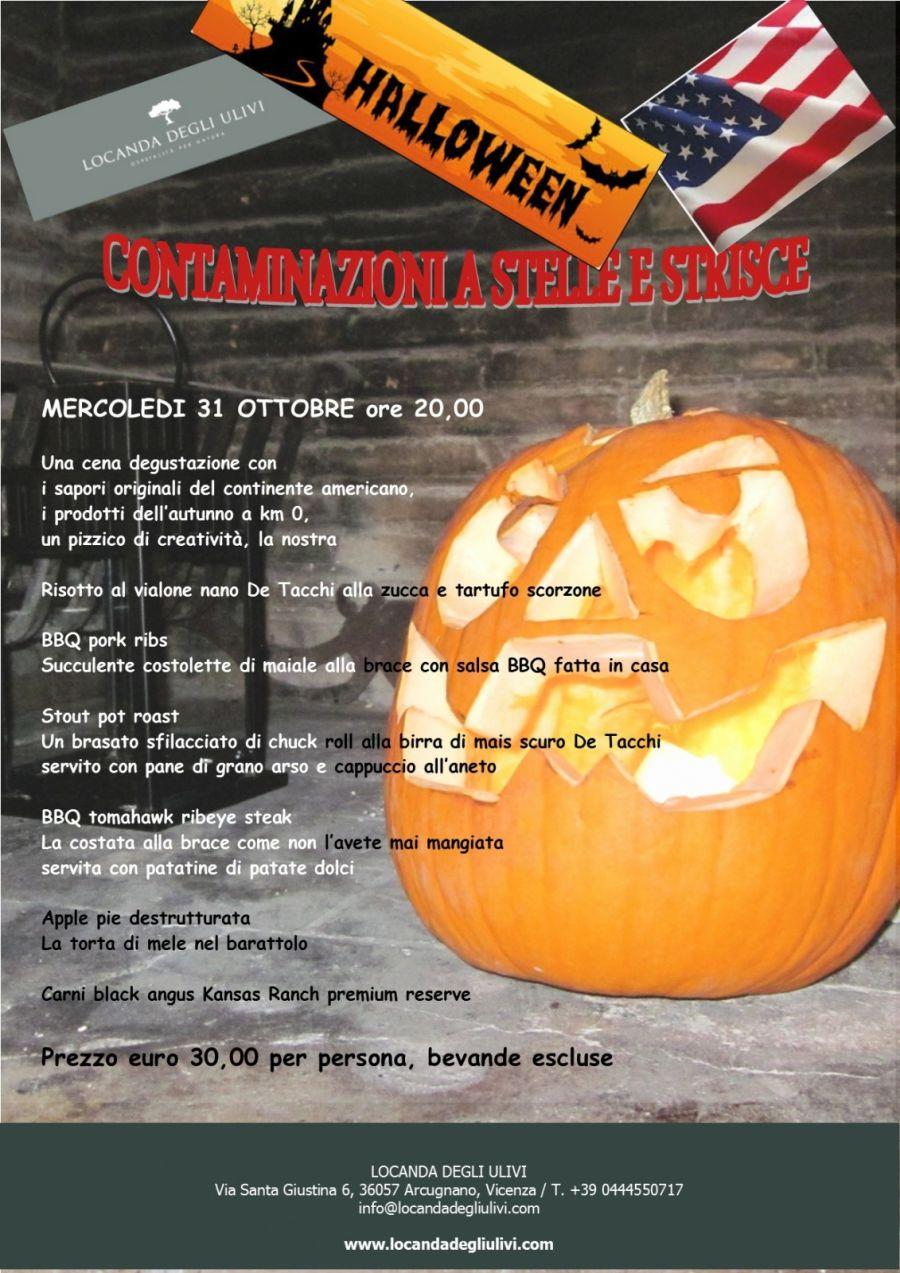 CENA : HALLOWEEN CONTAMINAZIONI A  STELLE E STRISCE