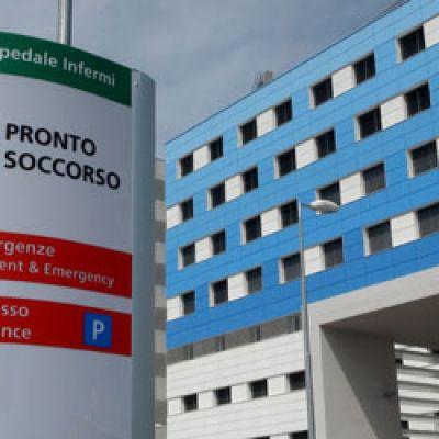 L' Hotel Derby vicino all'Ospedale di Rimini