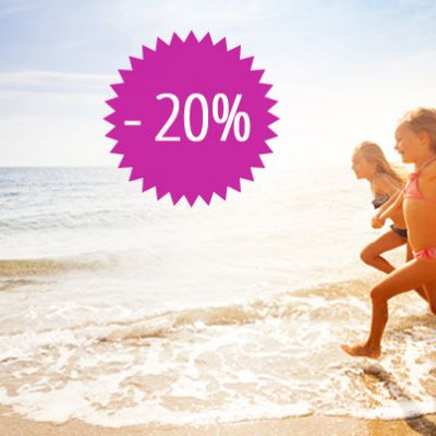 REDUCTION 20% offre PREMIER MINUTE en 2020