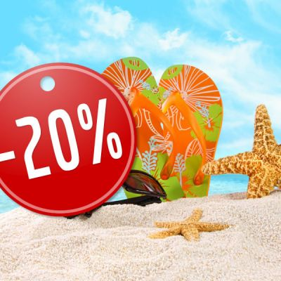 20% DISCOUNT for EARLY BOOKING in 2021