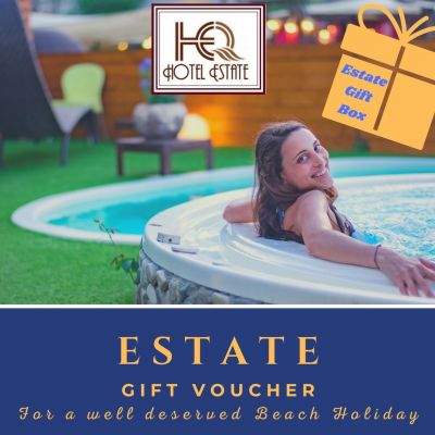 ESTATE GIFT VOUCHER. Give a stay by the sea