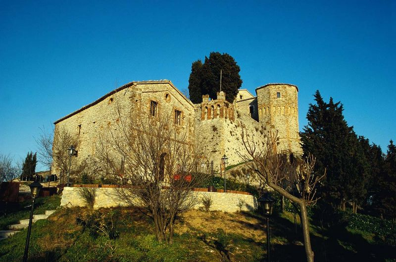 Montebello Castle: the Azzurrina's Ghost Legend