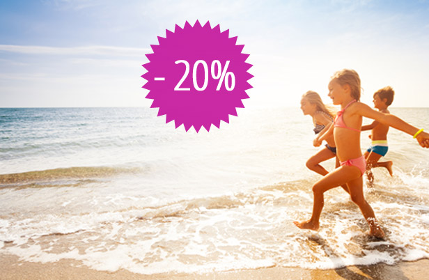 20% DISCOUNT for EARLY BOOKING in 2020