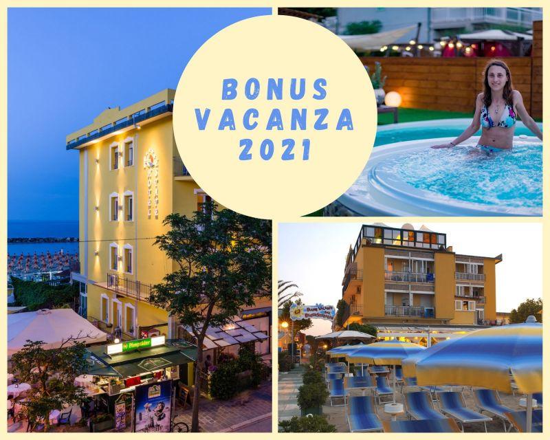 Offerta soggiorno con BONUS VACANZE 2021
