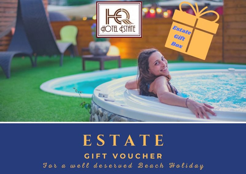 ESTATE GIFT VOUCHER. Give a stay by the sea in Rimini