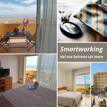 Smartworking dal tuo balcone sul mare a Rimini