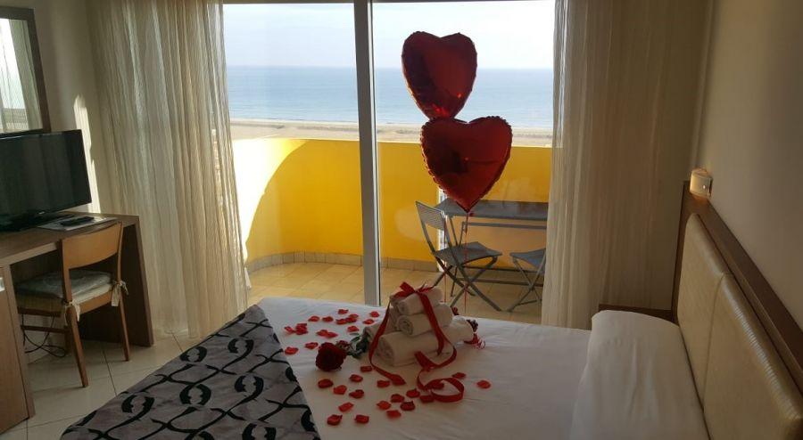 San Valentino a Rimini nel più bel balcone sul mare
