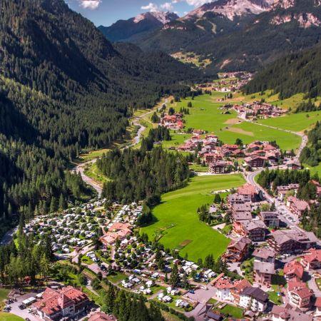 Giugno in campeggio in Val di Fassa