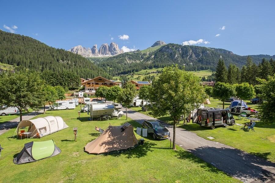 Offerte campeggi d'estate in Val di Fassa
