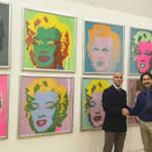 Andy warhol in the city