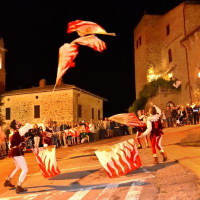 Sagra dello Strozzaprete a Paciano in Umbria