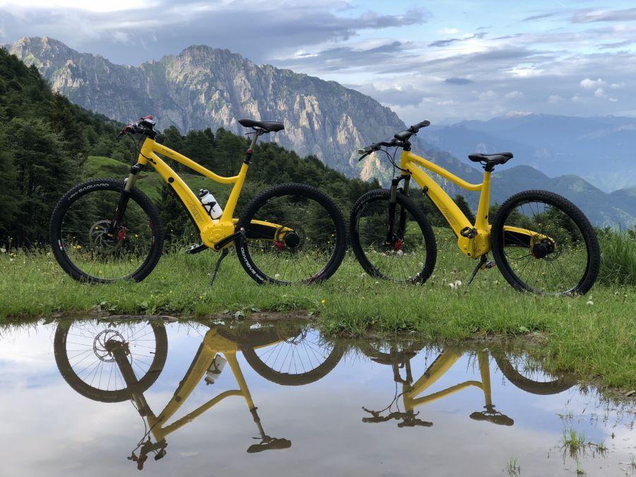 E-Bike sui sentieri dei Cimbri Piccole Dolomiti
