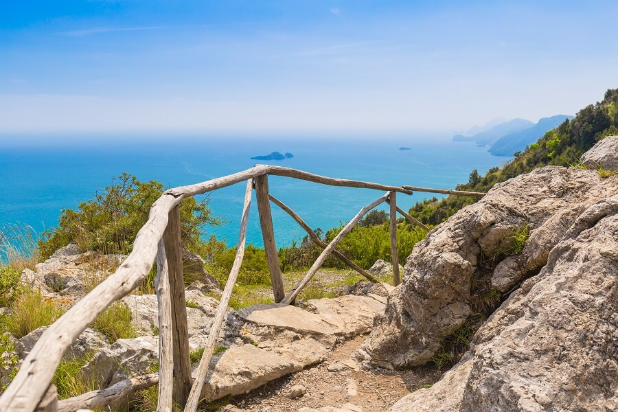 Trekking packages on the Amalfi Coast