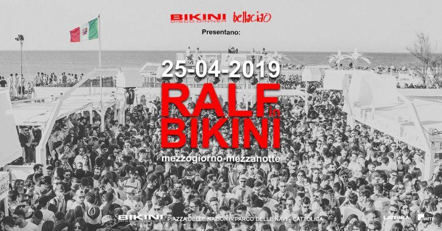 Ralf in Bikini 2019 Cattolica
