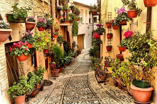 Ponti di Primavera in Umbria