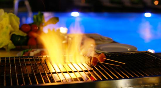 Barbecue sotto le stelle