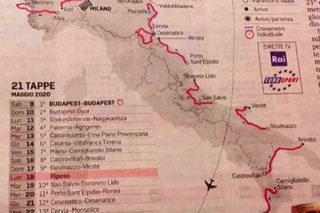 Il giro d'Italia fa tappa a Vieste !!