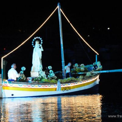 Feast in honor of the patron saint maria ss. del soccorso