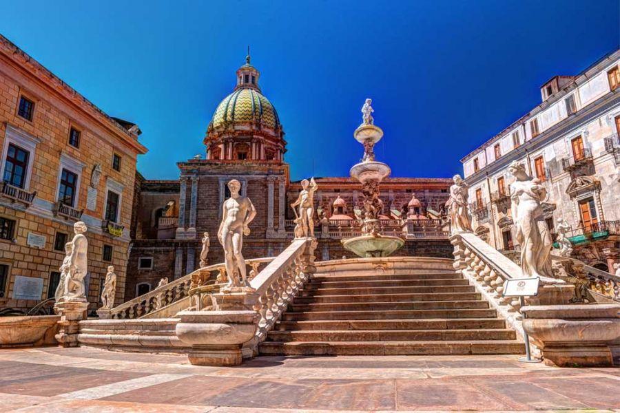 Monreale and Palermo Tour