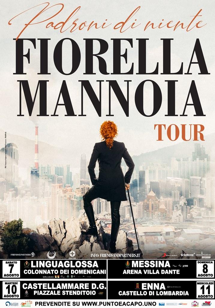 Fiorella Mannoia in concerto a Castellammare del Golfo