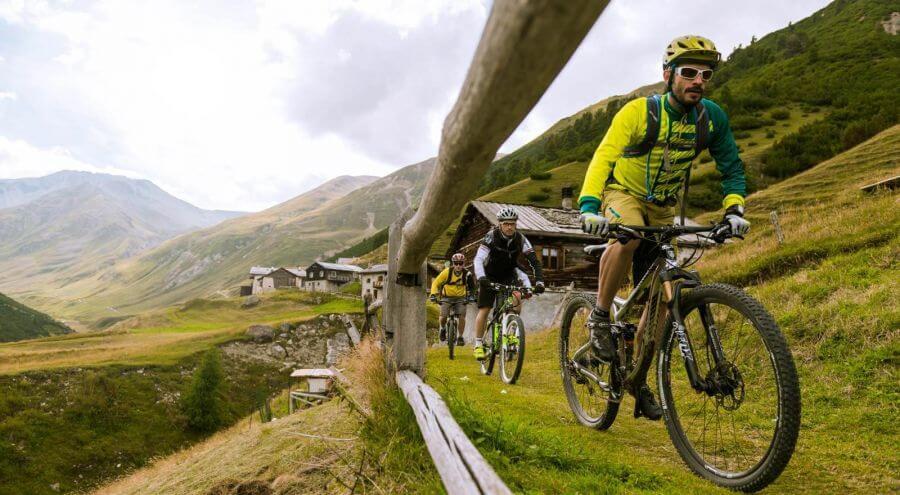 Offerte Livigno in mountain bike