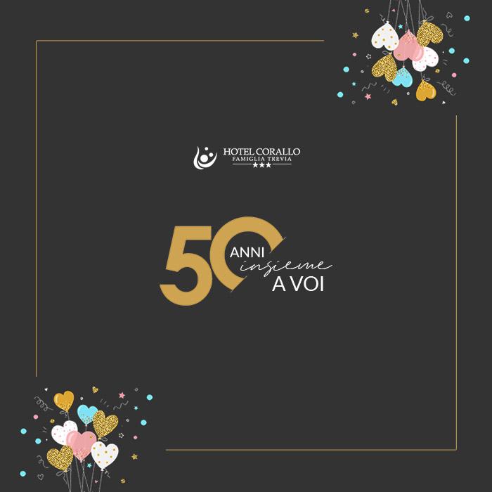 Offerta per il nostro 50° Anniversario di attività