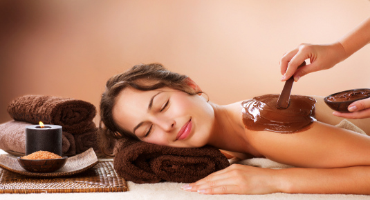 Warm Chocolate Massage