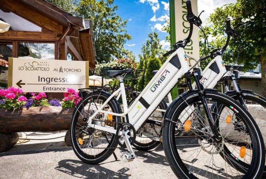 Vacanze bike in Val d'Aosta