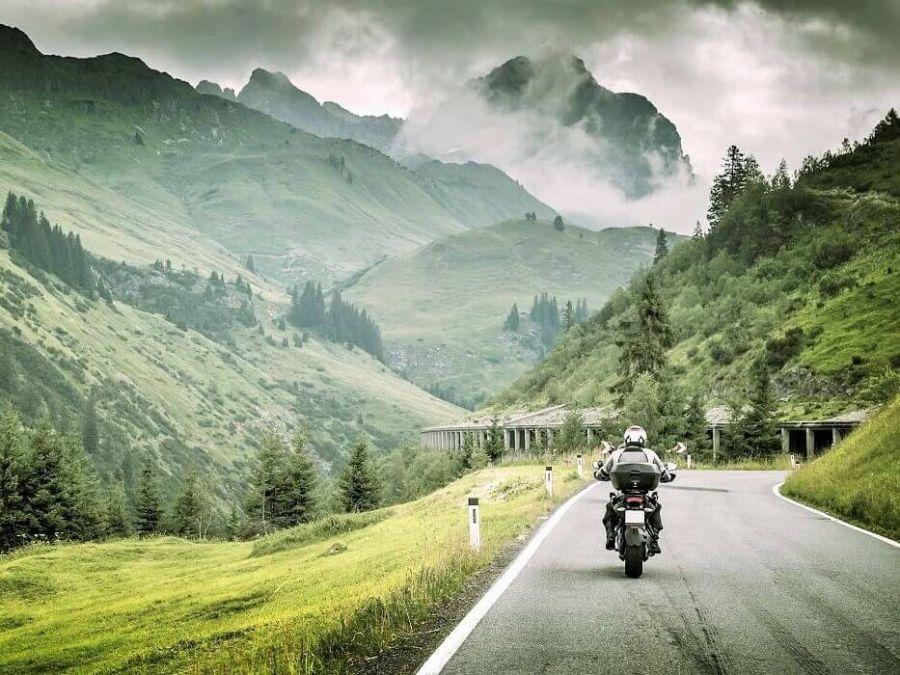 Vacanze in moto in Val d'Aosta