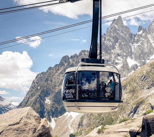 Pacchetti hotel e Skyway Monte Bianco