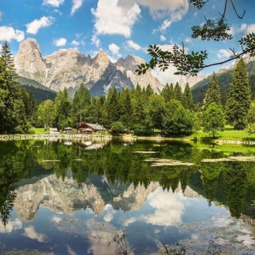 Summer holiday in the Dolomites