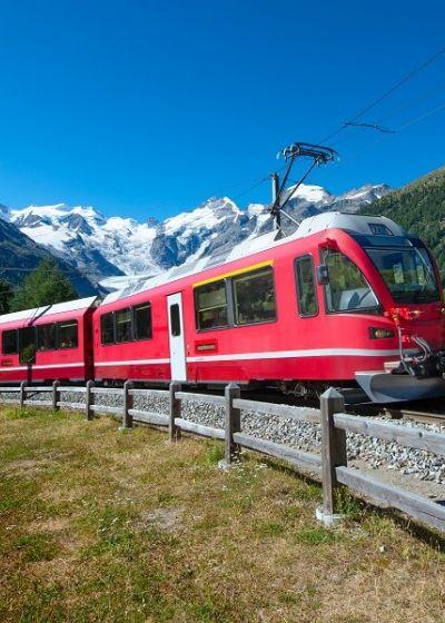 Pacchetti hotel e Trenino Rosso del Bernina