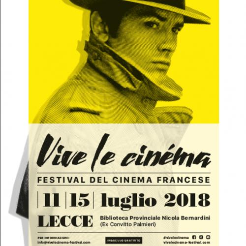 Vive le Cinéma - Festival del Cinema Francese a Lecce